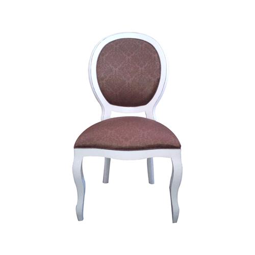 Cadeira de Jantar Medalhão Lisa Sem Braço - Wood Prime 960909 Liso