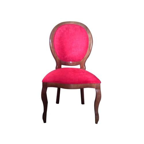 Cadeira de Jantar Medalhão Lisa Sem Braço - Wood Prime 963212 Liso