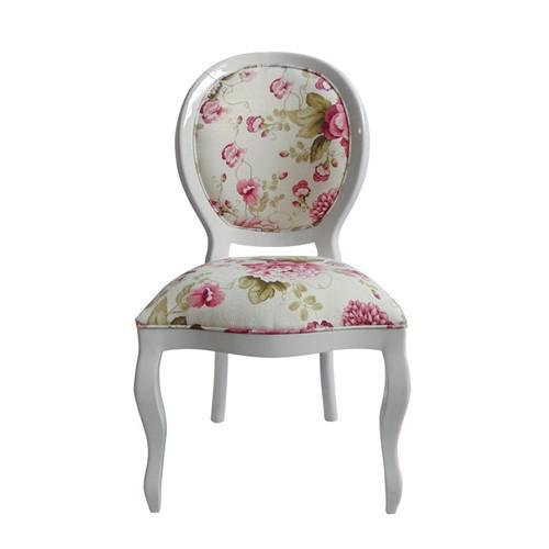 Cadeira de Jantar Medalhão Lisa Sem Braço - Wood Prime 963214 Liso