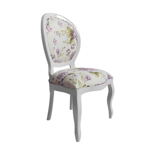 Cadeira de Jantar Medalhão Lisa Sem Braço - Wood Prime 997079 Liso