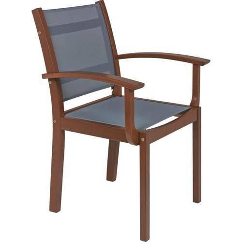 Cadeira de Madeira com Braços com Tela - Tramontina