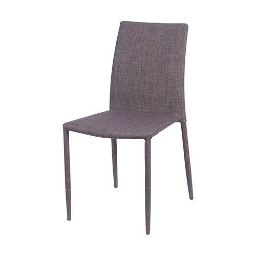 Cadeira de Metal Estofada 4403 OR Design Marrom