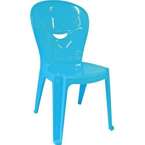 Cadeira de Plástico Infantil Vice Azul