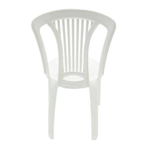 Cadeira de Plástico Tramontina Atlântida Polipropileno Suporta Até 154Kg - Branco