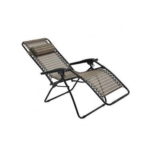 Cadeira de Praia e Varanda Reclinável 21 Posições Sevilha