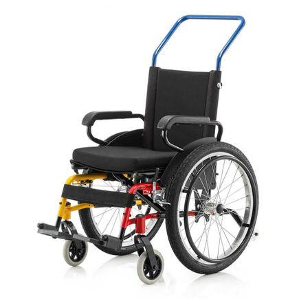 Cadeira de Rodas Cantu Infantil - Ortopedia Jaguaribe - 30cm