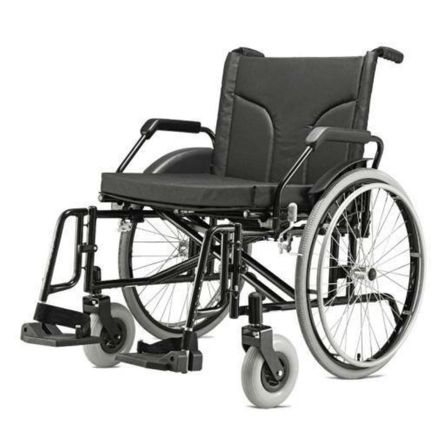 Cadeira de Rodas para Obeso - Ortopedia Jaguaribe - Big Preta