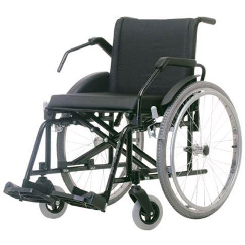 Cadeira de Rodas Poty Jaguaribe - Preto