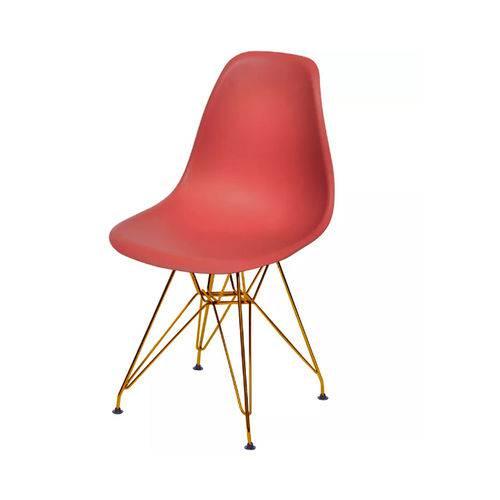 Cadeira Dkr Base Cobre - Telha