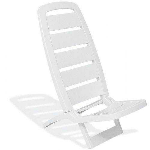 Cadeira Dobrável Guarujá Basic Branca Tramontin