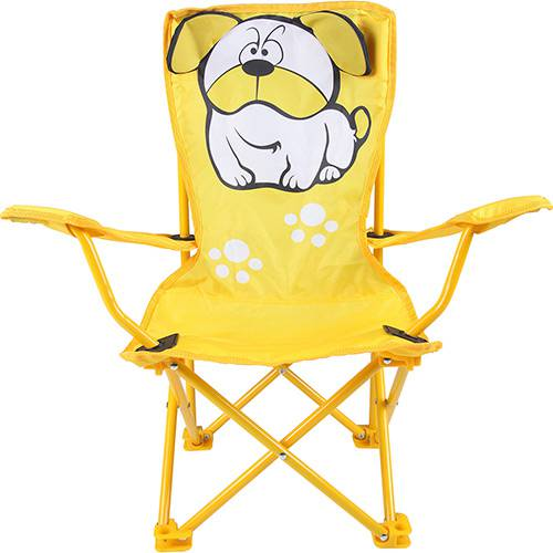Cadeira Dobrável Infantil Bulldog - Mor