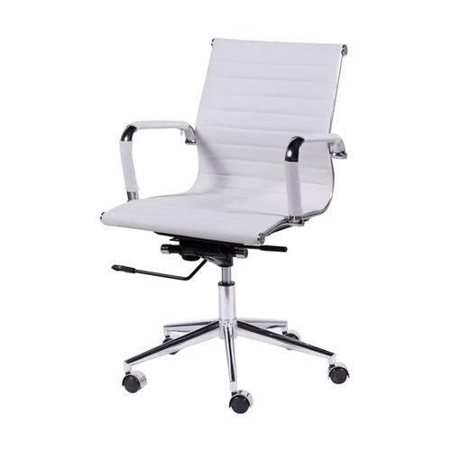 Cadeira Eames 3301 Baixa Branca