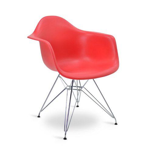 Cadeira Eames DAR Vermelha Vermelha