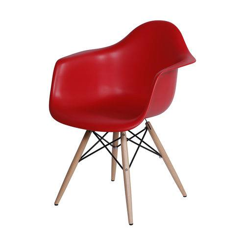 Cadeira Eames Daw Vermelha