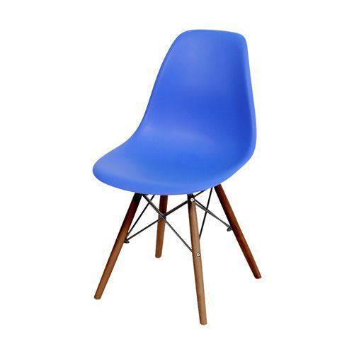 Cadeira Eames Dkr Base Escura Azul Escuro - Or Design 1102be