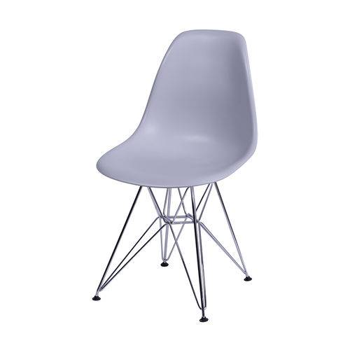 Cadeira Eames Dsr Cinza