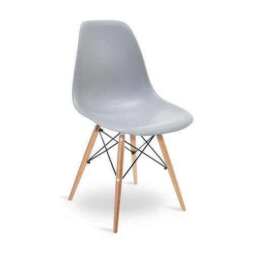 Cadeira Eames DSW Cinza Cinza