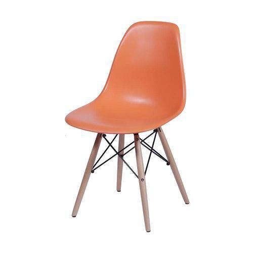 Cadeira Eames Dsw Infantil Laranja