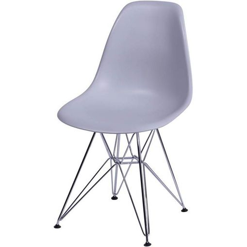 Cadeira Eames Eiffel Cinza PP OR Design 1102