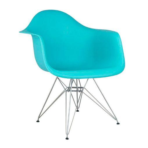 Cadeira Eames Eiffel DAR Tiffany com Braço 1121 Or Design