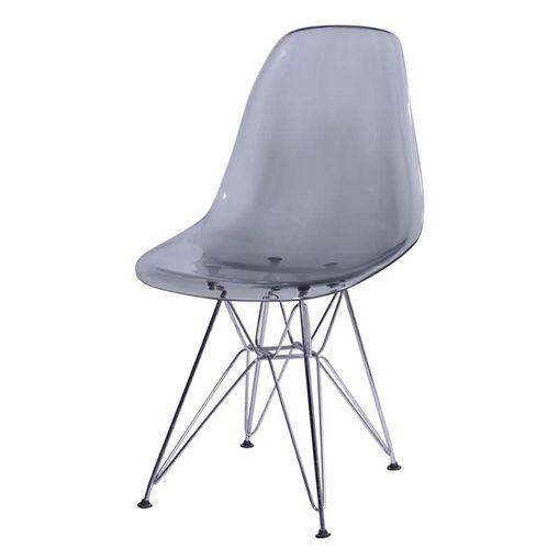 Cadeira Eames Eiffel Fume PC OR Design 1101