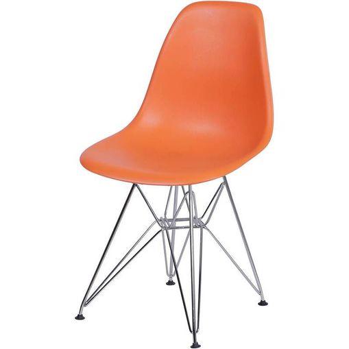 Cadeira Eames Eiffel Laranja PP OR Design 1102
