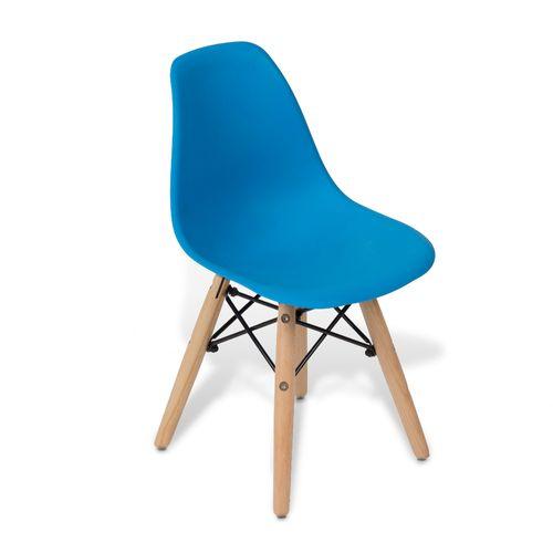 Cadeira Eames Kids DSW Azul Azul