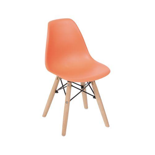 Cadeira Eames Kids DSW Laranja Laranja