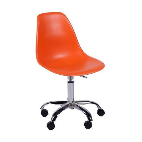 Cadeira Eames Office Laranja Laranja