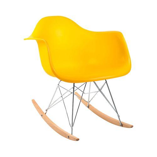 Cadeira Eames RAR Amarela Amarela