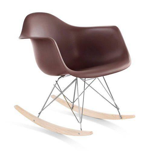 Cadeira Eames RAR Balanço - Marrom
