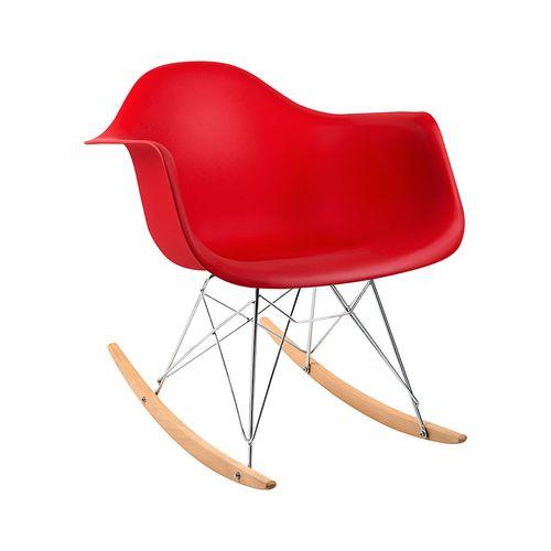 Cadeira Eames RAR Vermelha Vermelha