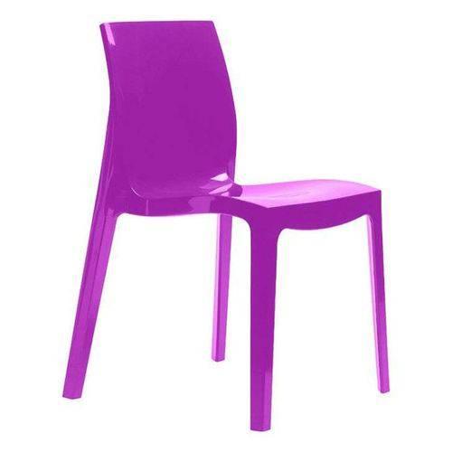 Cadeira em Polipropileno Roxo