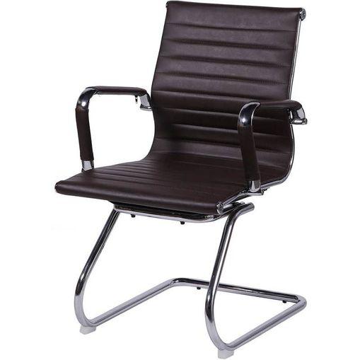 Cadeira Escritório Café Fixa OR-3301 OR Design