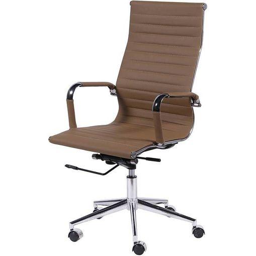 Cadeira Escritório Caramelo Alta 3301 Or Design