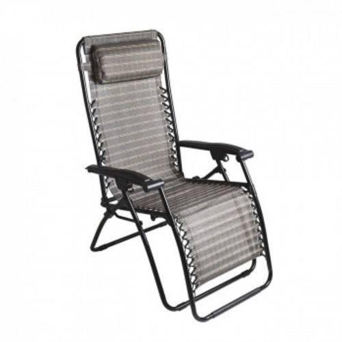 Cadeira Espreguicadeira Reclinavel com 21 Posicoes Sevilha Mor