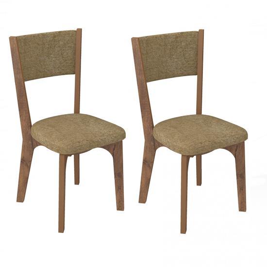 Cadeira Estofada CA22/2 02 Unidades - Dalla Costa