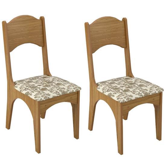 Cadeira Estofada CA18/2 2 Unidades - Dalla Costa