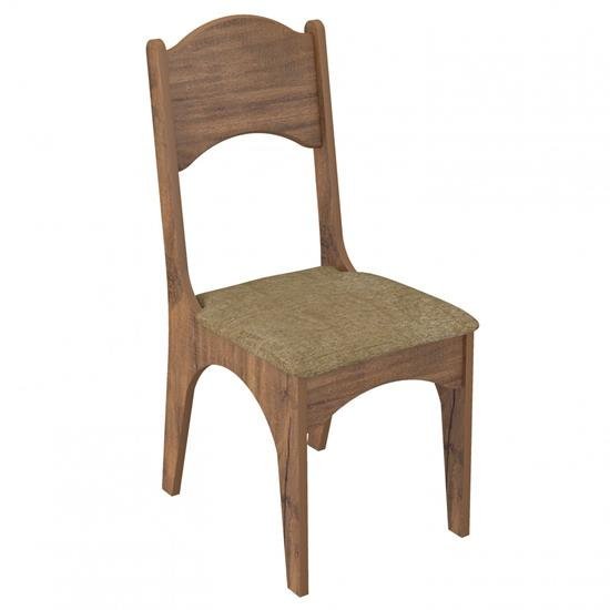 Cadeira Estofada CA18/2 02 Unidades - Dalla Costa CA18/2