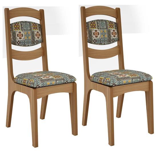 Cadeira Estofada CA27/2 2 Unidades - Dalla Costa