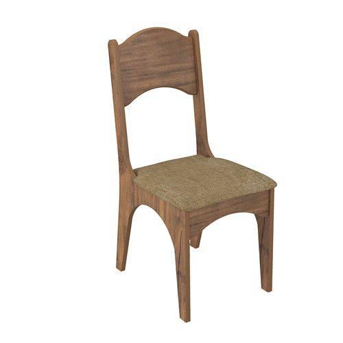 Cadeira Estofada Dalla Costa- Nobre