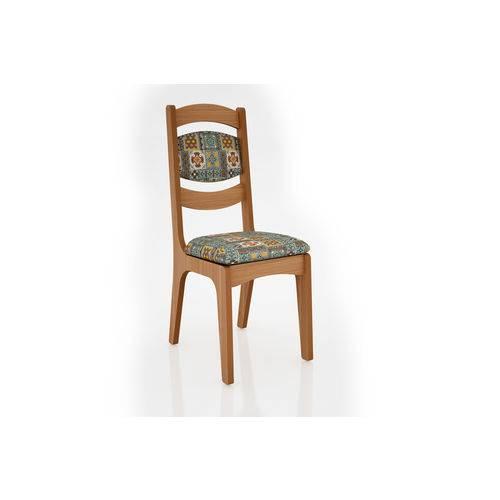 Cadeira Estofada Freijo - Ladrilho - Dlca27/2 J10 - Dalla Costa