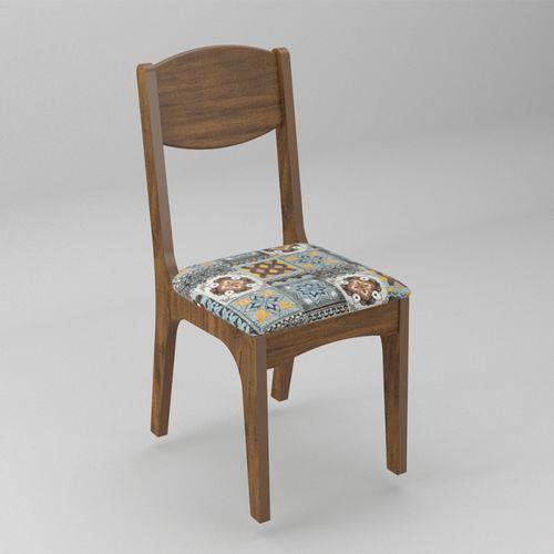 Cadeira Estofada - Nobre/ladrilho