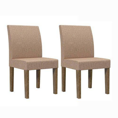 Cadeira Europa (2 Unidades) - Imbuia - Rv Móveis