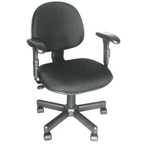 Cadeira Executiva Giratória CE-01 Couro Eco Preto CE250 Pethiflex