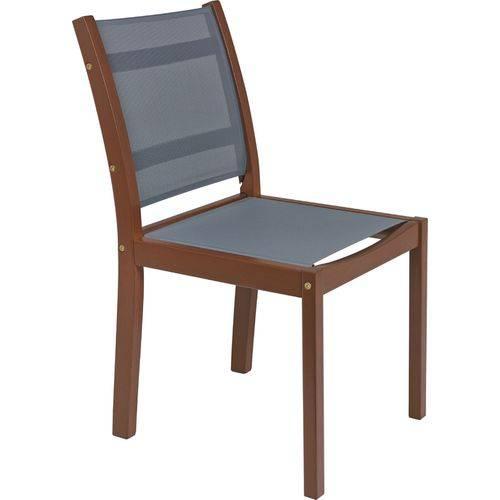 Cadeira Sem Braços com Tela - Tramontina