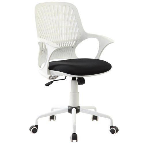 Cadeira Flakes Branca e Preta