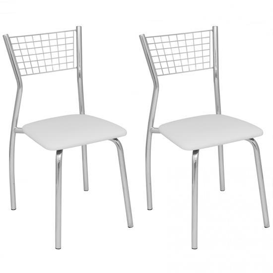 Cadeira Florença 2 Unidades C121 - Compoarte | Elare