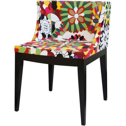 Cadeira Folia Floral Madeira Escura OR Design 1135/D