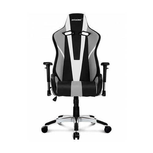 Cadeira Gamer AKRacing Gaming XTRA CP-7 Extra Large Preto/Branco/Cinza, 10261-0